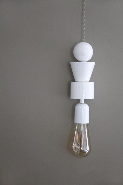 LAMP KRAAL, white